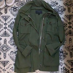 J. Crew green jacket